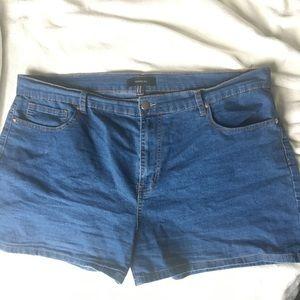 Plus Size F21 Denim Shorts